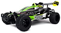 Velocity Toys Xtreme Blaster Remote Control RC Buggy, High Performance Lithium Battery, Big Size 1:10 Scale RTR w/ Working Spring Suspension