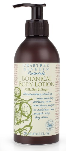 Crabtree & Evelyn Naturals Botanical Body Lotion, Milk, Soy & Sugar