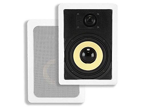 Monoprice 104100 6-1/2-Inch Kevlar 2-Way In-Wall Speaker