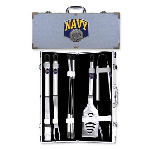 Navy BBQ Tool Set