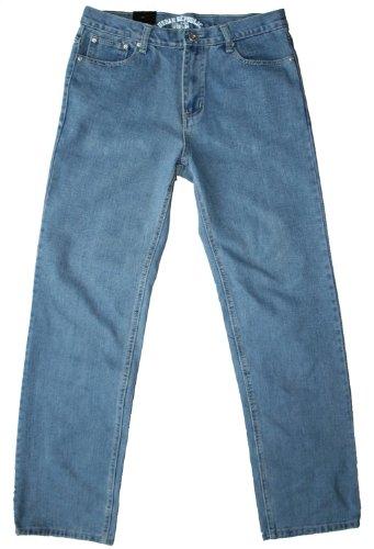 Urban Republic men's comfort fit stonewash jean, 34W 32L
