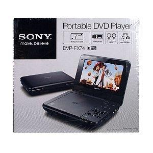 Sony DVP-FX74 7 inch Portable DVD Player