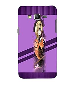 PrintDhaba Cute Girl D-3039 Back Case Cover for SAMSUNG GALAXY GRAND PRIME (Multi-Coloured)
