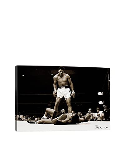 Retro Images Muhammad Ali Vs. Sonny Liston, 1965 Gallery-Wrapped Canvas Print
