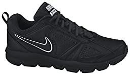 Nike Men\'s T-Lite XI Black/Black/Metallic Silver Training Shoe 12 Men US