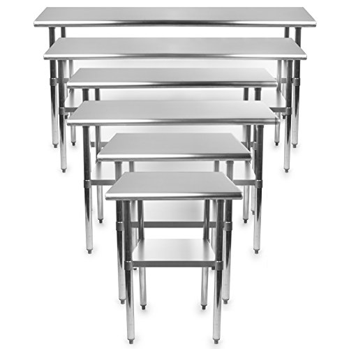 Gridmann Stainless Steel Commercial Kitchen Prep Work Table 48 In X 24 Ebay