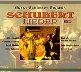 echange, troc Interprètes divers, Peter Schreier - Schubert - Intégrale des grands cycles de lieder et autres pièces