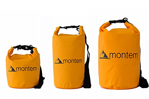 Montem-Premium-Waterproof-Bag-Roll-Top-Dry-Bag-Perfect-for-Kayaking-Boating-Canoeing-Fishing-Rafting-Swimming-Camping-Snowboarding