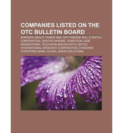 -companies-listed-on-the-otc-bulletin-board-borders-group-fannie-mae-zap-freddie-mac-edigital-corpor