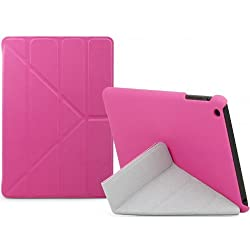Slim Folding Case W/ 'Y' Stand for IPad Mini, Pink
