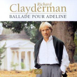 richard clayderman ballade pour adeline music. Black Bedroom Furniture Sets. Home Design Ideas