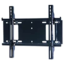 Peerless 23 - 46 Inches Univ. Flat Wall Mount, Black