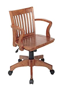 cheap wood bankers desk chair review office chairs 411b