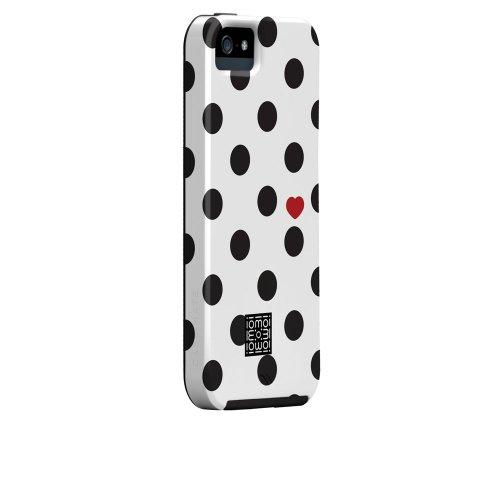 Special Sale Case-Mate Iomoi Designer Print Case for iPhone 5 - Zebra Spot - Retail Packaging - White