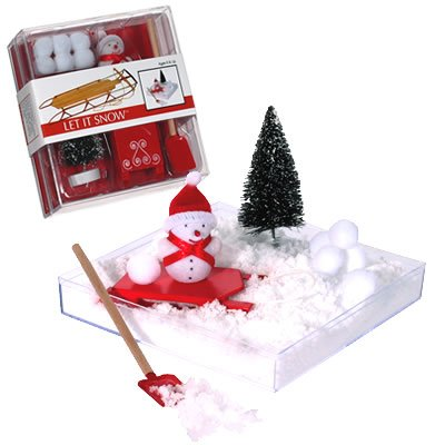 Let It Snow Miniature Sledding Set - Buy Let It Snow Miniature Sledding Set - Purchase Let It Snow Miniature Sledding Set (Garden at Home, Toys & Games,Categories,Activities & Amusements,Miniatures & Keychains)