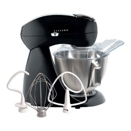 Hamilton Beach Electrics 63227 All-Metal Stand Mixer, Licorice (Metal Mixer Bowl compare prices)