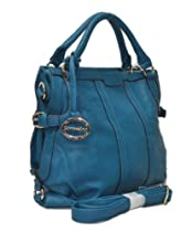 "In Style ""292"" Satchel High Quality Designer Inspired Handbag (Turquoise292)"