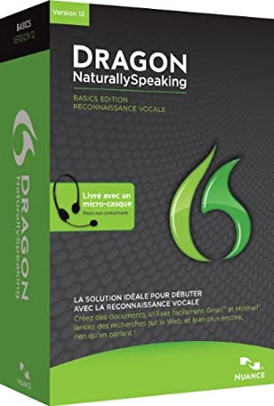 Dragon NaturallySpeaking Basic v12