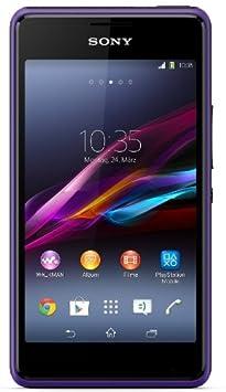 Sony Xperia E1 purple débloqué logiciel original