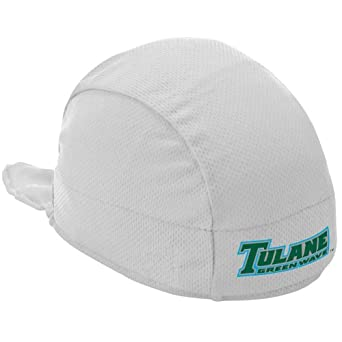 Buy NCAA Tulane Green Wave High Performance Shorty Beanie, White by Headsweats