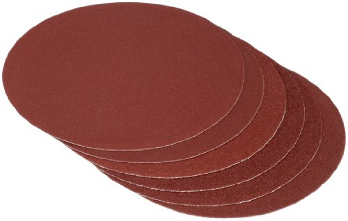 Cartrend 30132 Sandpaper Pack of 6 2 x Grit 60 / 80 / 120 max. 175 mm Diameter