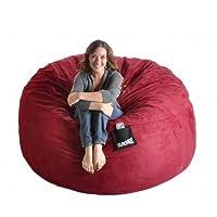 Marvelous Jumbo Bean Bag Chair Creativecarmelina Interior Chair Design Creativecarmelinacom