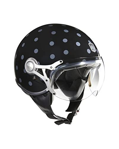 Exklusiv Helmets Casco Freeway Pop Negro / Gris