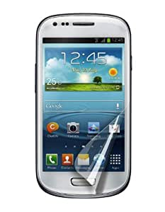 Muvit MUSCP0288 Pack de 2 Films de protection d'écran Anti trace de Doigt Mat pour Galaxy S3 Mini