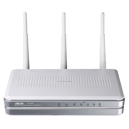 ASUS RT-N16 4 Port Gbit Wireless Lan Router ( 802.11n,300 MBPS,2x USB 2.0,FTP...