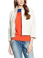 Trussardi Jeans Americana Piel Mujer (Blanco)