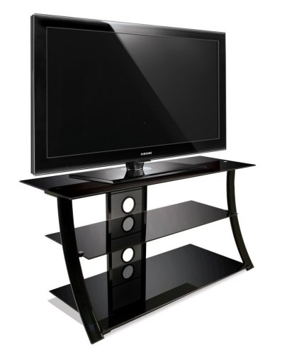 BellO PVS4208HG Flat Panel A/V Stand - High Gloss Black