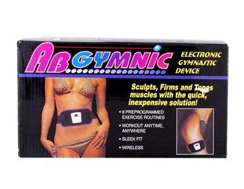 Ab Gymnic Abdominal Muscle Exercise Electronic Gymnastic Belt (Black)