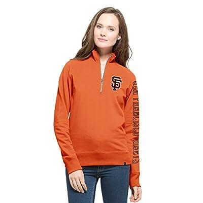 MLB Women's '47 Shimmer Cross-Check 1/4-Zip Pullover Jacket