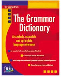 THE GRAMMAR DICTIONARY - Buy THE GRAMMAR DICTIONARY - Purchase THE GRAMMAR DICTIONARY (DIDAX, Office Products, Categories, Office & School Supplies, Education & Crafts, Teaching Materials, Professional Development Resources)