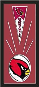 Arizona Cardinals Wool Felt Mini Pennant & Arizona Cardinals Team Logo Photo -... by Art and More, Davenport, IA