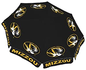 Missouri Tigers 9ft Market Umbrella by Team Sports America
