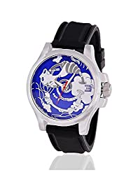 Yepme Mens Canvastic Mens Watch - Blue/Black_YPMWATCH0730