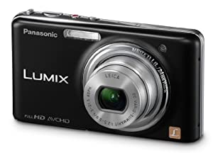 Panasonic Lumix DMC-FX78 12.1 MP Digital Camera with 5x f/2.5 Ultra Wide Angle Optical Image Stabilized Zoom Lens and 3.5-Inch Touch LCD (Black)