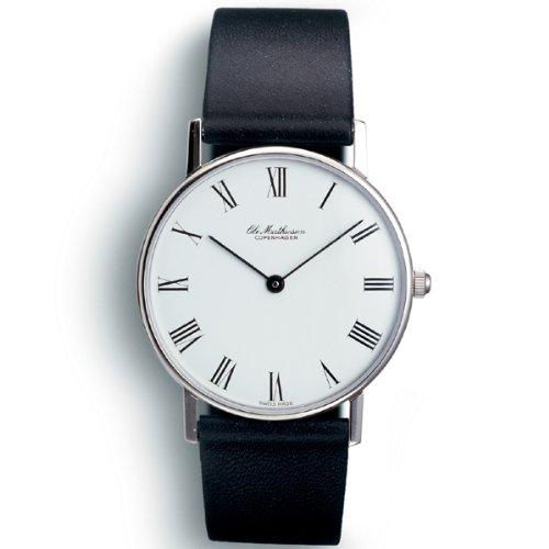 [オーレ・マティーセン]OLE MATHIESEN 腕時計 ROMAN.WHITE DIAL OM1.37 OM1.37 メンズ 【正規輸入品】