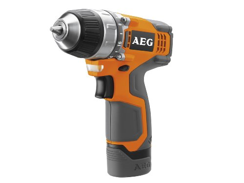 AEG  AEGOBS12C2 12v Compact Drill Driver Kit, 2 x 1.5ah Li-ion Batteries