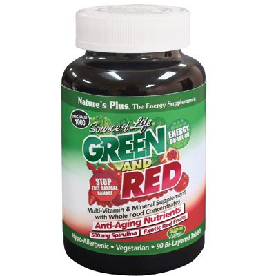Nature'S Plus - Source Of Life Green And Red - 90 Tablets