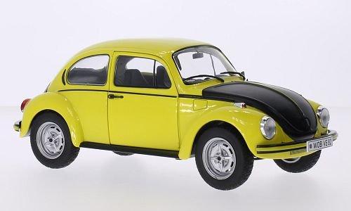 VW-Kfer-1303-S-GSR-gelbmatt-schwarz-1973-Modellauto-Fertigmodell-Solido-118