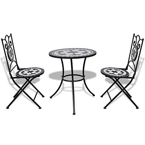 mosaik tisch und 2 st hle com forafrica. Black Bedroom Furniture Sets. Home Design Ideas