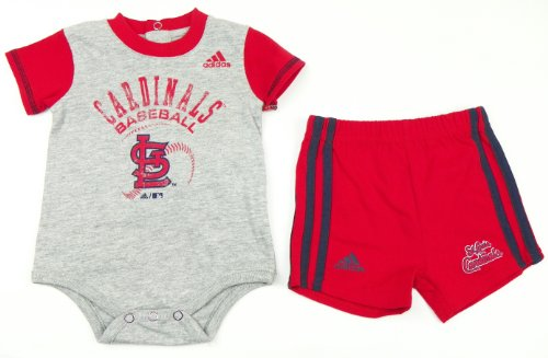 St. Louis Cardinals Infant Little Slugger Creeper and Short Set (6/9m) at Amazon.com
