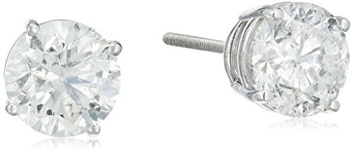 IGI-Certified-14k-White-Gold-Round-Diamond-Stud-Earrings-3-cttw-H-I-Color-SI2-I1-Clarity