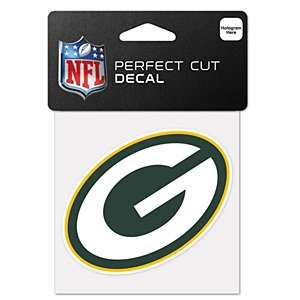 Green Bay Packers Official Nfl 4 Inch X 4 Inch Die Cut Car Decal front-653423