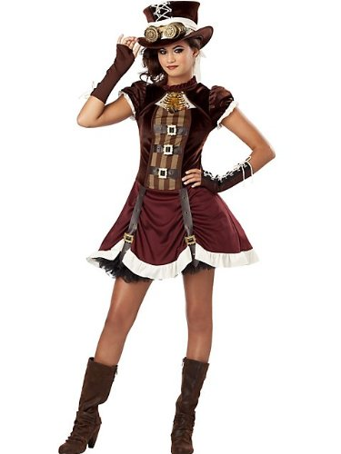 Steampunk Girl Tween Costume