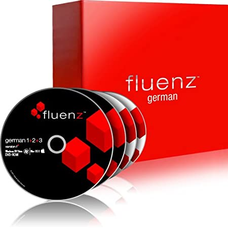 Fluenz German 1+2+3 with supplemental Audio CDs
