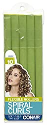 Conair 62502z Medium Spiral Rollers 10 Pack Colors may vary