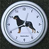 Quartz wall clock Rottweiler Dog